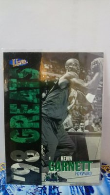 1997-98 Fleer Ultra '98 Greats Kevin Garnett