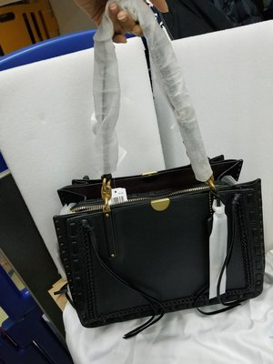 Coach~正品全新Dreamer Tote 34 With Whipstitch