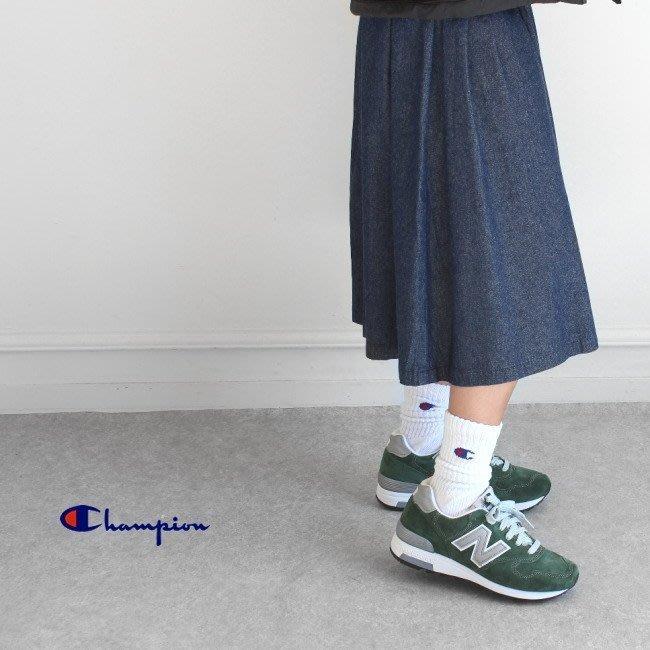 ☆AirRoom☆【現貨】CHAMPION 日版 長襪 刺繡 LOGO 白色 百搭 CS0701 一組3入