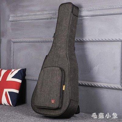 ZIHOPE 吉他包加厚加棉民謠古典39寸40寸41寸男女雙肩背包防水ZI812