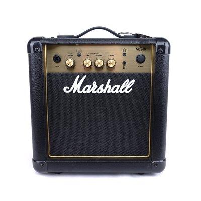 立昇樂器 Marshall MG10G 10瓦電吉他音箱 【原MG-10CF】