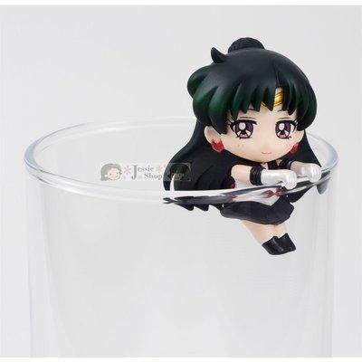 日本 BANDAI 萬代 美少女戰士 Sailor Moon 20th Q版 第二彈 杯緣子 茶友 附杯墊【水手冥王星】