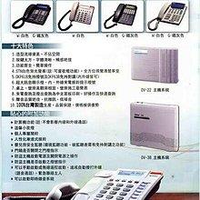 安立達 Aristel DV 28 + DKP-61*4台 電話總機 螢幕話機