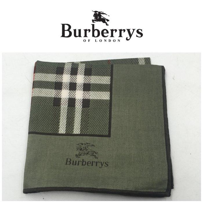【皮老闆二店】二手真品 Burberry 手帕 手09