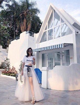 CC Collection 代購 Unravel Project 反穿丹寧牛仔長款白紗裙