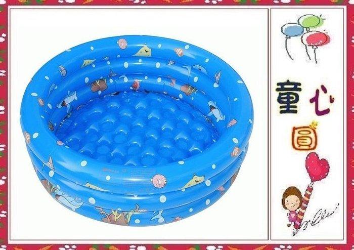 三層加厚氣泡底充氣泳池 /球池/遊戲池~浴池 150公分游泳池◎童心玩具1館◎