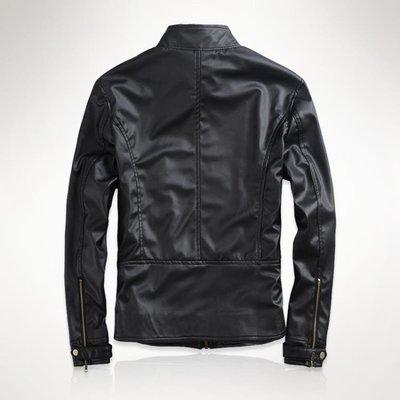 新款男士皮衣青年春秋外套修身韓版男裝機車服帥氣PU皮夾克潮