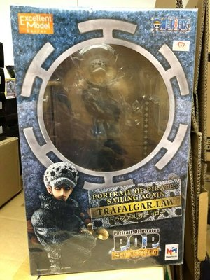 全新 亞版 Megahouse POP One Piece Sailing Again Trafalgar D Water Law 海賊王 兩年後 新世界編 羅