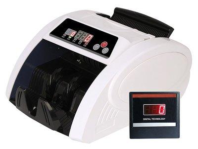 (免運)點鈔機驗鈔機 AP1100 (5個磁頭(取代)舊型3個磁頭) 台幣 美金 人民幣 專攻 (多送1個外接顯示器)