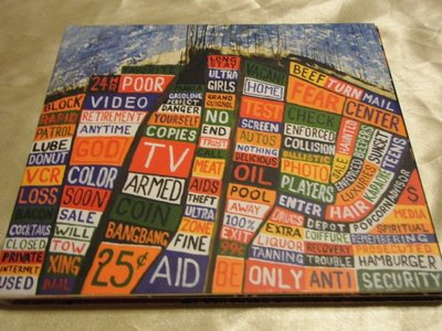 Radiohead 電台司令 -- Hail to The Thief 紙殼精裝版