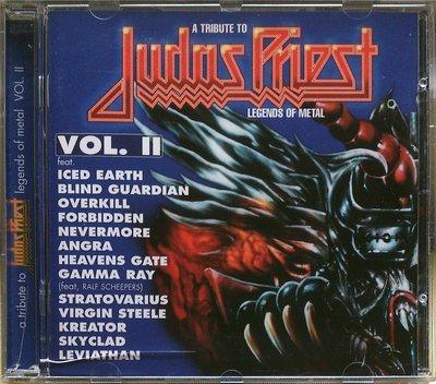 A Tribute To Judas Priest:Legends Of Metal Vol.II 二手德版