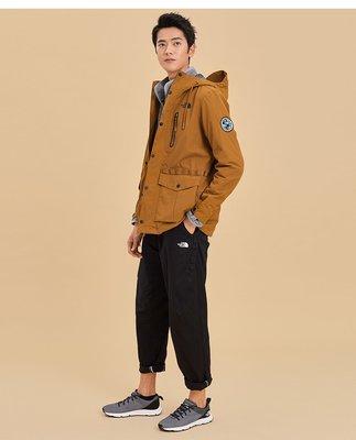 小阿姨shop The North Face北面男款棕色防風防水衝鋒衣|3V3OUBT