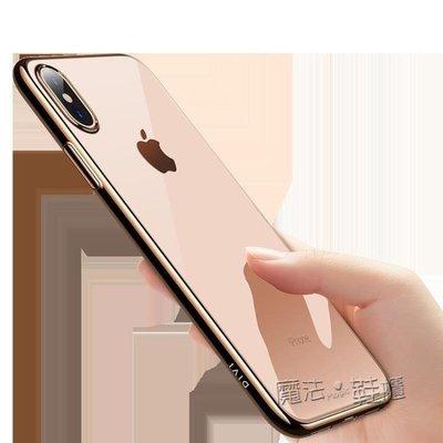 iPhone Xs Max手機殼蘋果X透明超薄硅膠iPhoneXMAX軟殼XsMax新