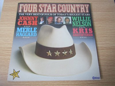 Johnny Cash Willie Nelson Merle Haggard 12寸黑膠2LP