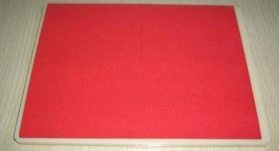 【紅帶可複用拳道擊破板-塑膠+EVA-31*23*1.6cm-1套/組】紅帶踢 紅帶跆拳道訓練膠板-56045