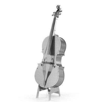 迷你3D鐵片模型 樂器 大提琴