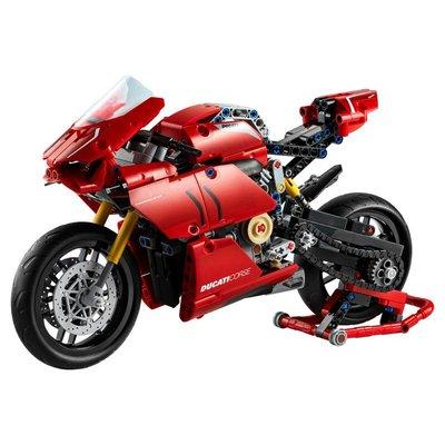 兼容樂高機械組42107杜卡迪V4R摩托積木拼裝益智兒童玩具男孩模型