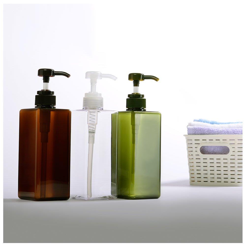 『藝瓶』瓶瓶罐罐 空瓶 空罐 化妝保養品分類瓶 按壓瓶 矩型乳液/壓泵分裝瓶子-正方(大)