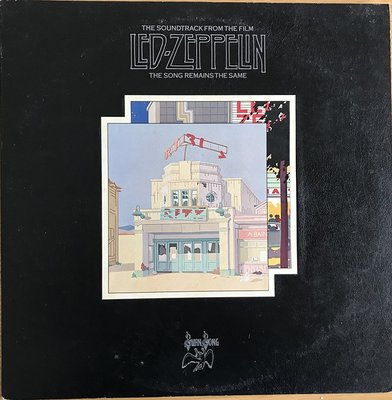 LED ZEPPELIN/THE SONG REMAINS THE SAME(2LPS)