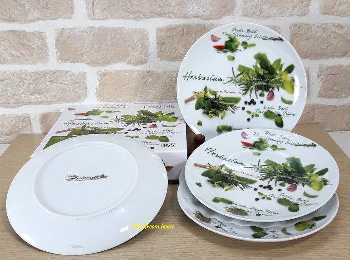 點點蘑菇屋 義大利Easy Life蔬果點心盤組 四個一組 糕點 下午茶 水果盤 糖果盤 禮盒裝 現貨