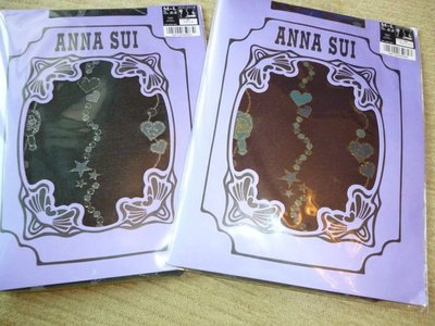 日本原裝Anna Sui褲襪~串心❤星厚款~賣場Anna Sui均一價450
