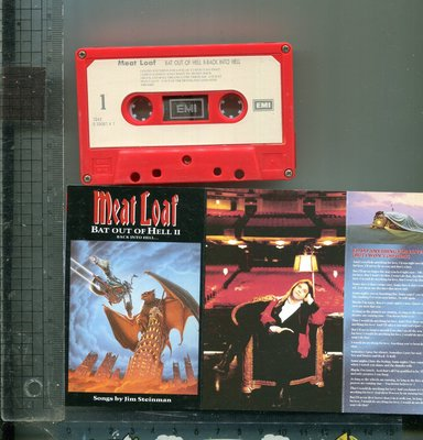 Meat Loaf  (Bat Out of Hell II)  二手錄音帶+歌詞