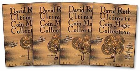 【天天魔法】【S712】正宗原廠~終極硬幣(全四片)Ultimate Coin Magic by David Roth