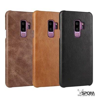 Samsung S9+ Plus G965 頭層牛皮真皮 原廠背蓋後殼後蓋背殼 手機殼皮套保護套保護殼N0933