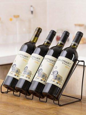 橙子的店 鐵藝紅酒架創意吧臺擺件葡萄酒架歐式酒瓶架用客廳酒架子(二件起購)
