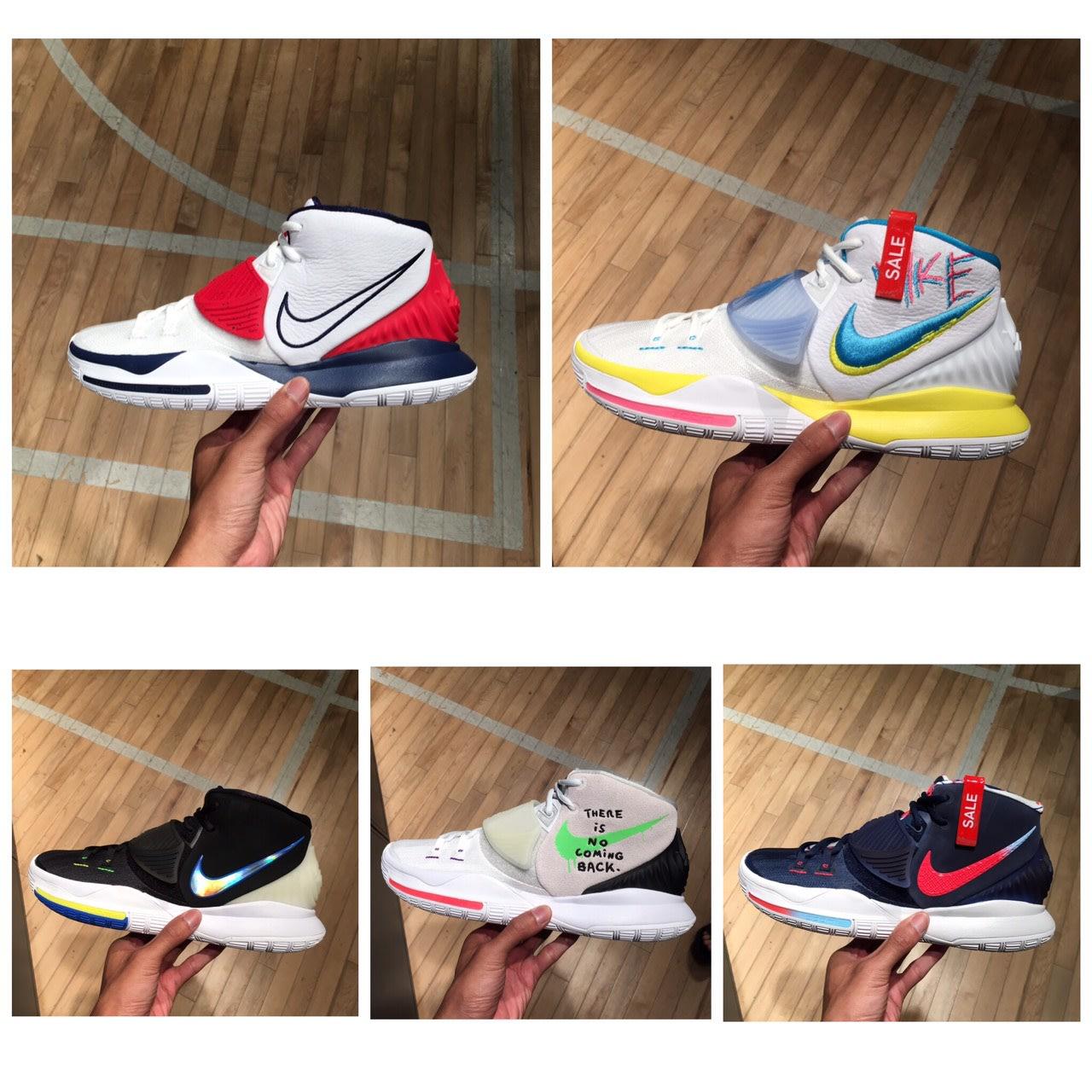 【G CORNER】Nike Kyrie Irving 6 高筒籃球鞋 KI 厄文 氣墊 避震 緩震 多色 BQ4631