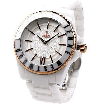 Vivienne Westwood 手錶 Ceramic 白色 陶瓷 陶瓷錶 女錶 生日 禮物 VV048RSWH