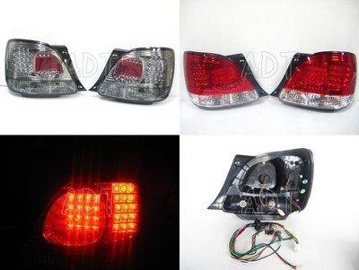 ~~ADT.車燈.車材~~LEXUS GS300 LED尾燈一組6500   紅白/晶鑽/淡黑3種顏色