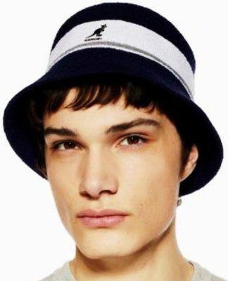 【 柒玖捌零日貨精品 】《 現貨 》日本最新款 全新正品 Kangol 袋鼠帽 黑色漁夫帽