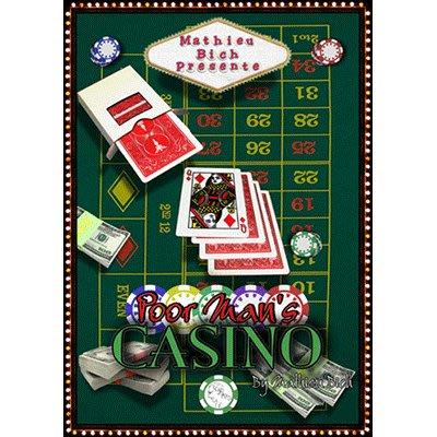 【天天魔法】【S1030】正宗原廠~Poor Man's Casino by Mathieu Bich