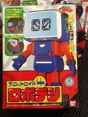 玩具魂`BANDAI出品`日本製小露寶系列之四號時間機器人`1999年收藏品`少見美品`絕版貨