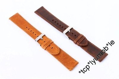 三星 Samsung Watch Gear S3 Classic Frontier 瘋馬紋皮錶帶 手錶帶 錶帶 Leather watch band case 1