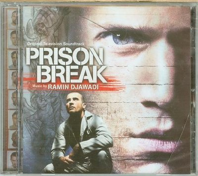 "[原聲帶-P]-""越獄風雲(Prison Break)""- Ramin Djawadi,全新美版(24)"