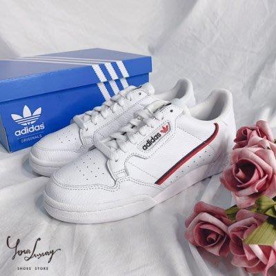 【Luxury】ADIDAS ORIGINALS CONTINENTAL 80 復古 皮革 運動鞋 復古休閒 休閒鞋
