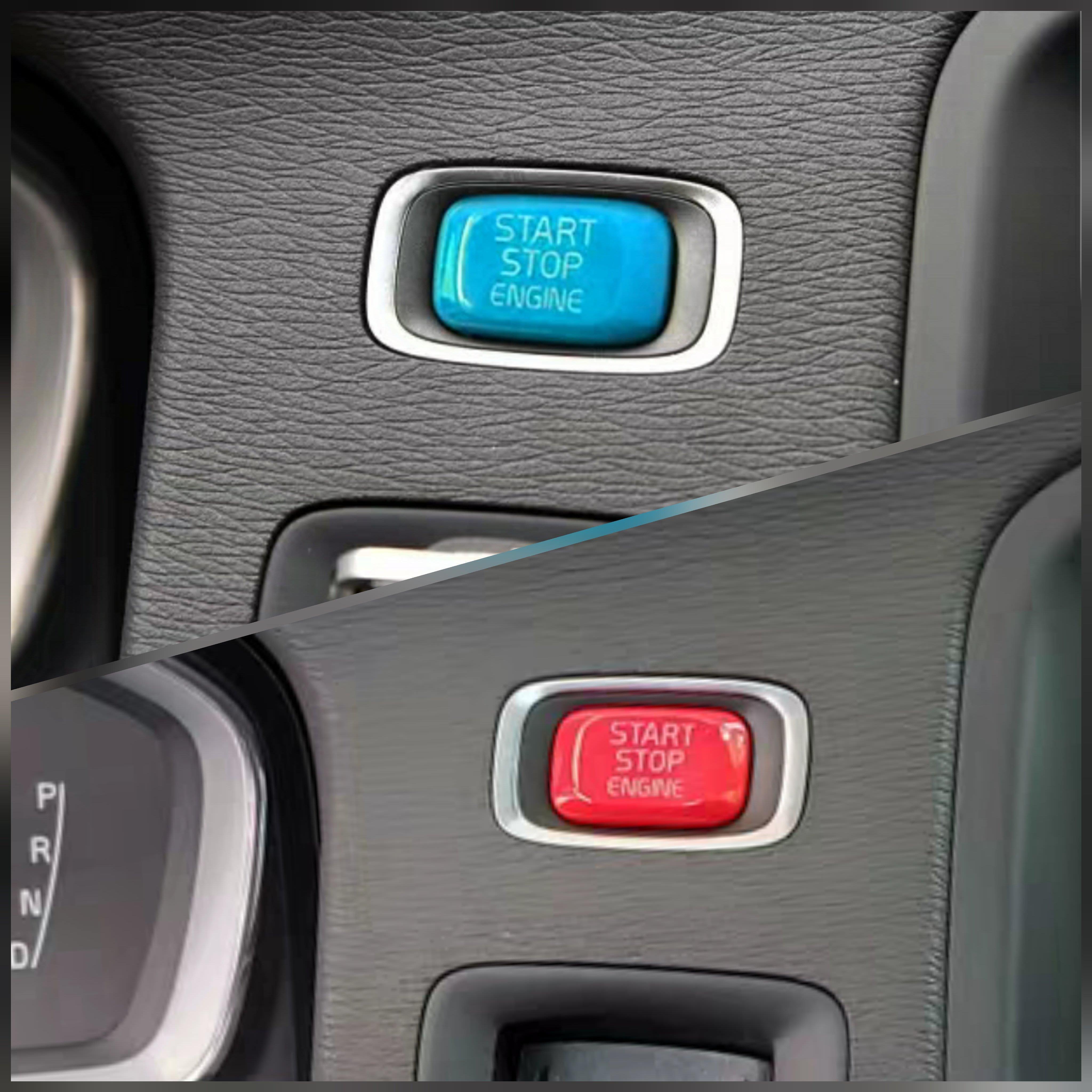 Volvo V40 V60 S60 XC60 一鍵啟動 改裝 Polestar 裝飾 PUSH START STOP按鍵