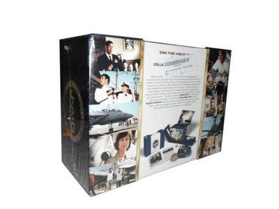 【優品音像】 高清原版美劇DVD 執法悍將 JAG 完整版 56碟裝珍藏版純英文無中文 精美盒裝