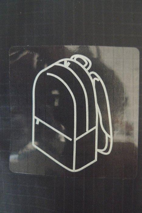 MUJI無印良品 日本原裝最強版:滑翔傘布可折收納後背包 * / * 只要 1498 元!!