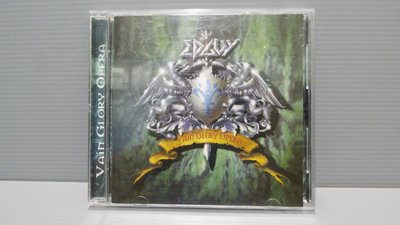 Vain Glory Opera刀鋒邊緣的音樂專輯 原版CD 保證讀取 有歌詞 有現貨 歡迎多提問