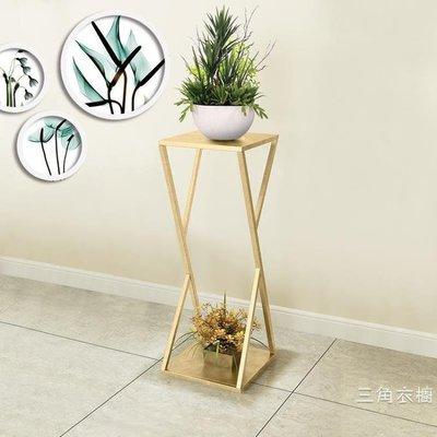 花架北歐花架現代簡約客廳室內花架綠蘿鐵藝花架置物架落地式花盆架子~huaer