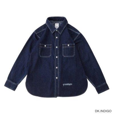 VISVIM SS LUMBER SHIRT DAMAGED 牛仔長袖襯衫0120105007003。太陽選物社