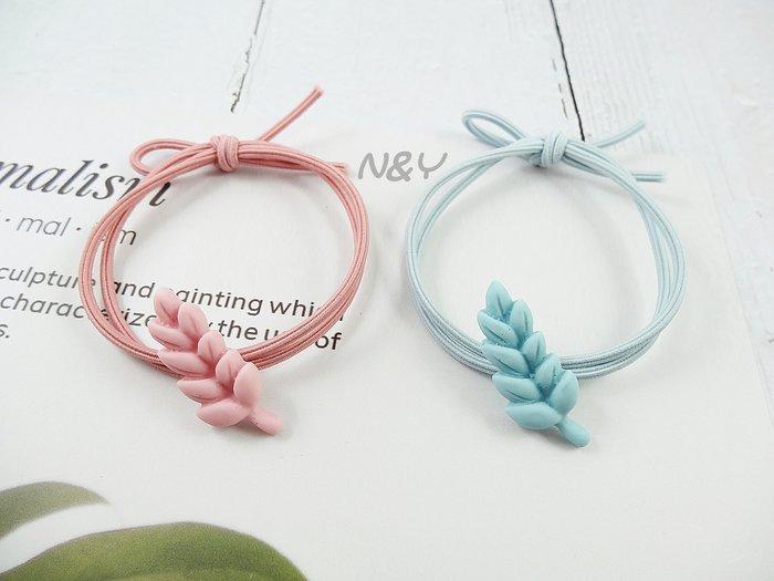 韓國ins網紅糖果色麥穗髮圈髮飾髮繩兒童髮圈馬尾皮筋☆【N&Y】HA17