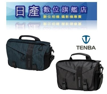 【日產旗艦】 天霸 Tenba Messenger DNA 8 638-425 防潑 耐撕裂 TPU塗佈帆布 特使肩背包