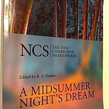 中學二手書 A Midsummer Nights Dream  The New Cambridge Shakespeare