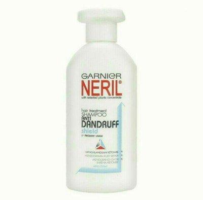 印尼Garnier neril anti dandruff shampoo 卡尼爾洗髮精/1瓶/200ml