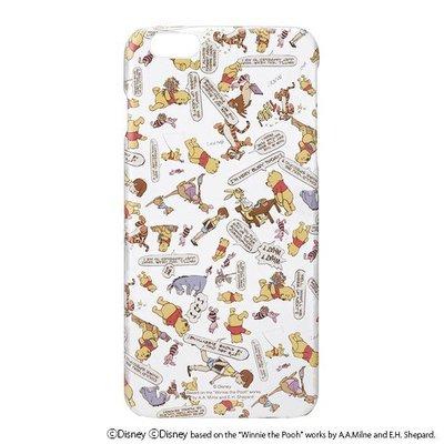 尼德斯Nydus~* 日本正版 迪士尼 小熊維尼 Winnie 透明 硬殼 手機殼 5.5吋 iPhone6+ Plus