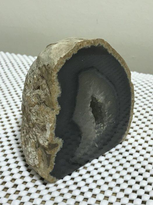原石天然瑪瑙小晶洞